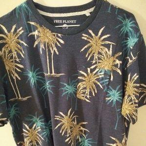 NWT Free Planet short sleeve shirt. Sz XL